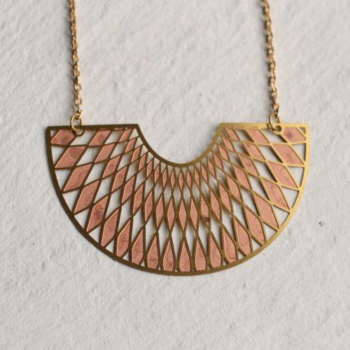 Deco Harlequin Necklace