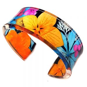 Sue Gregor 1970s Design Cuff Narrow